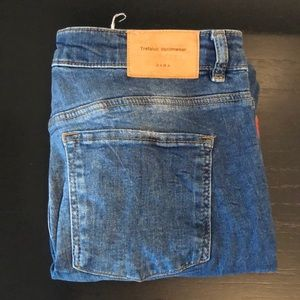 Zara detailed skinny jeans